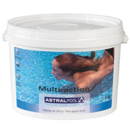 Astralpool Мультихлор для жёсткой воды 5kg